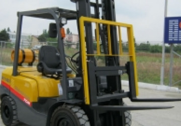 Industrial & Rough Terrain Forklifts